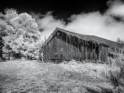Photograph - Portrait Of Old Decayed Barn by Greg Nyquist