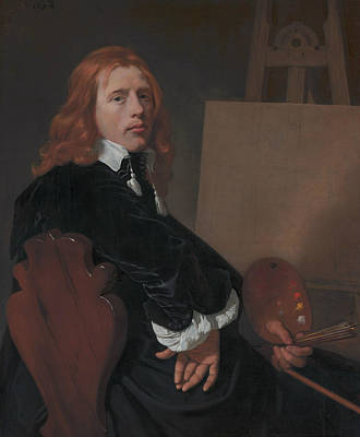 Painting - Portrait Of Paulus Potter by Bartholomeus van der Helst