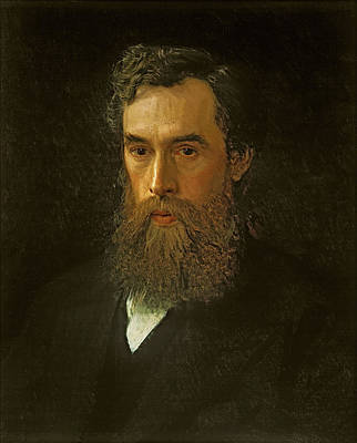 Pavel Painting - Portrait Of Pavel Tretyakov  by Ivan Kramskoy