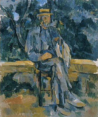 Painting - Portrait Of Peasant by Paul Cezanne