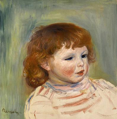 Painting - Portrait Of Pierre Renoir by Pierre-Auguste Renoir