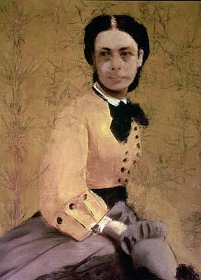 Upper Classes Painting - Portrait Of Princess Pauline De Metternich by Edgar Degas