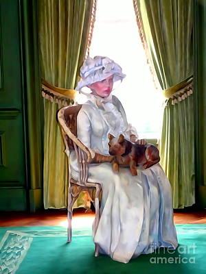 Digital Art - Portrait Of Prudence by Ed Weidman