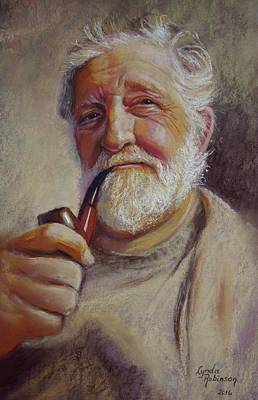 Painting - Portrait Of Ray by Lynda Robinson