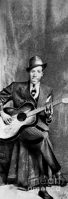 Drawing - Portrait Of Robert Johnson by Carrie Jackson