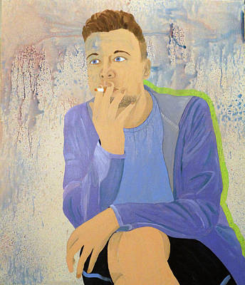 Painting - Portrait Of Ross Redmon by Kevin Callahan