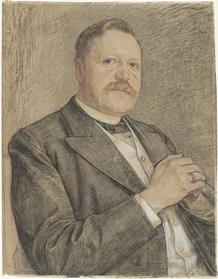 Abstract Painting - Portrait Of Rpj Tutein Nolthenius, Jan Veth, 1874 - 1925 by Celestial Images