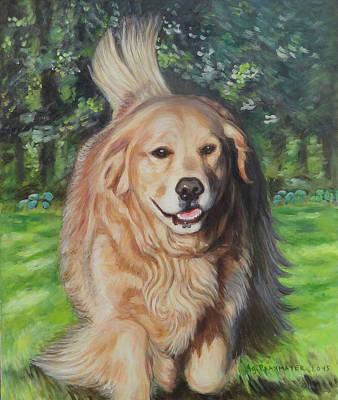 Portrait Of Sasha Art Print