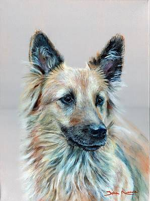 Painting - Portrait Of Sasha by John Neeve
