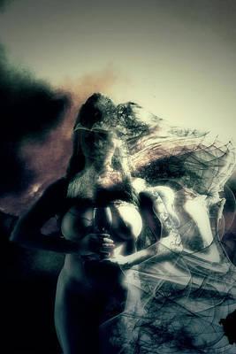 Yemaya Photograph - Portrait Of Sensual Sadness by Damali Conceptuals