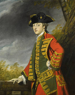 Painting - Portrait Of Sir Gerard Napier by Joshua Reynolds