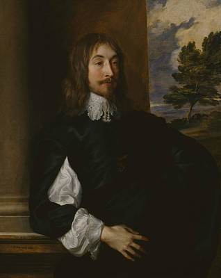 Painting - Portrait Of Sir William Killigrew by Anthony van Dyck