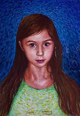 Painting - Portrait Of Sophia by Herschel Pollard
