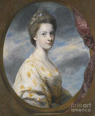1743 Painting - Portrait Of Sophia by MotionAge Designs