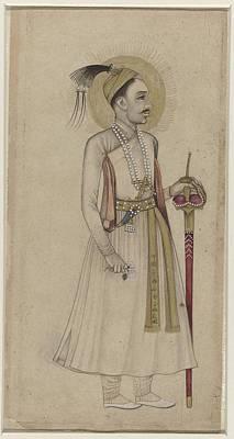 Qutb Painting - Portrait Of Sultan Muhammad Quli by MotionAge Designs