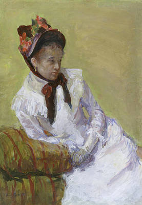 Self Portrait Painting - Portrait Of The Artist by Mary Cassatt