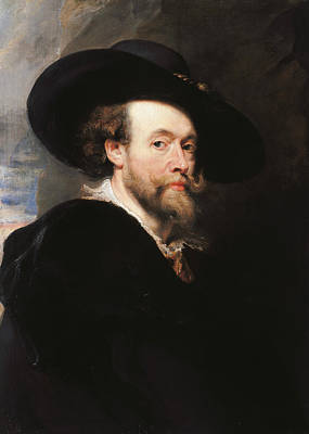 Peter Painting - Portrait Of The Artist by Peter Paul Rubens