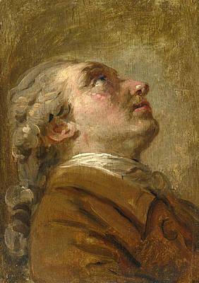 Claude Joseph Vernet Painting - Portrait Of The Artist Simon Mathurin Lantara by Claude-Joseph Vernet