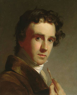Portrait Of The Artist Art Print by Thomas Sully
