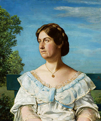 Painting - Portrait Of The Artist's Adopted Daughter - Elli Blaue by Treasury Classics Art
