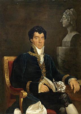 Painting - Portrait Of The Composer Gaspare Spontini by Ferdinando Cavalleri
