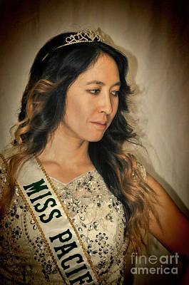 Photograph - Portrait Of The Gorgeous Miss Pacifica California Marissa Lai by Jim Fitzpatrick