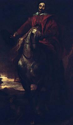 Digital Art - Portrait Of The Painter Cornelis De Wae  by Sir Antony van Dyck