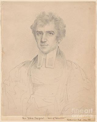 Portrait Of The Rev John Pierpont  Print by MotionAge Designs