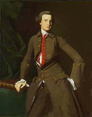Painting - Portrait Of The Salem by Copley John Singleton
