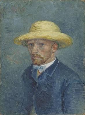 Painting - Portrait Of Theo Van Gogh Paris, Summer 1887 Vincent Van Gogh 1853  1890 by Artistic Panda