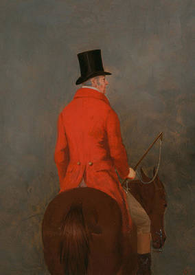 Crop Top Painting - Portrait Of Thomas Cholmondeley, 1st Lord Delamere, On His Hunter by Henry Calvert