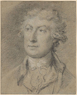 1754 Painting - Portrait Of Thomas Gainsborough by MotionAge Designs