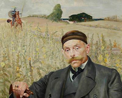 Painting - Portrait Of Waclaw Karczewski by Jacek Malczewski