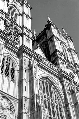 Photograph - Portrait Of Westminster Abbey by John S