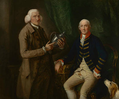 18th Century Painting - Portrait Of William Anne Hollis by Thomas Gainsborough