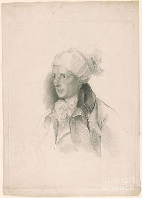 Engraving Painting - Portrait Of William Cowper by Celestial Images