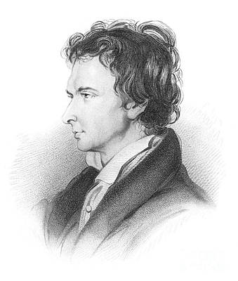 Portrait Of William Hazlitt Art Print by MotionAge Designs