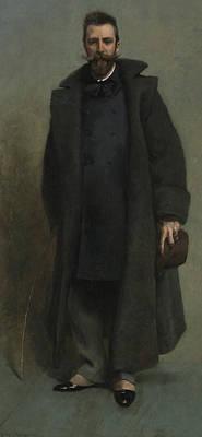 Portrait Of William Merritt Chase Art Print