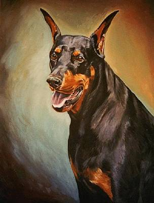 Painting - Portrait Of Zeus by Kathleen Heese