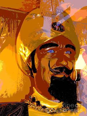 Portrait Of Zoltar Art Print by Ed Weidman
