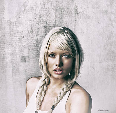 Portrait Painting Effect II Art Print