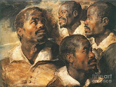 Photograph - Portrait Studies 1620 by Padre Art