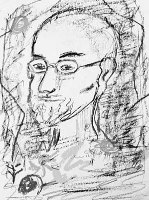 Drawing - Portrait Study 4617 by Hae Kim