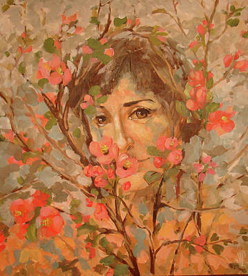 Brunch Painting - Portrait by Vali Irina Ciobanu