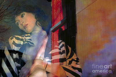 Photograph - portraits fantasy mannequins photography - Reflection by Sharon Hudson