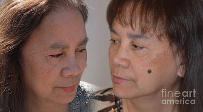 Photograph - Portraits Of A Filipina With A Mole On Her Cheek by Jim Fitzpatrick