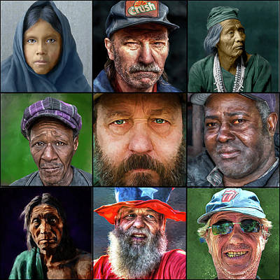 Photograph - Portraits by Rick Mosher