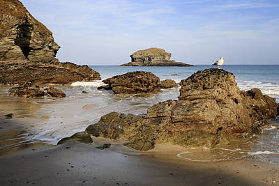 Photograph - Portreath by Shirley Mitchell