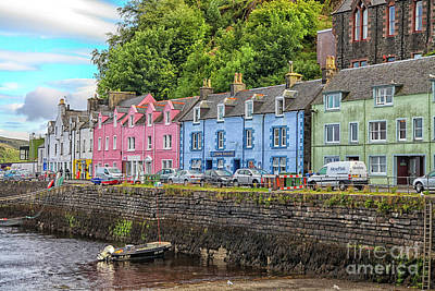 Photograph - Portree Town On Skye, Scotland by Patricia Hofmeester