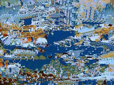 Digital Art - Ports Of Call by Nancy Kane Chapman